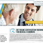 NADME,Mational Academy of DOT Medical Examiners